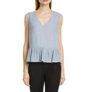 🆕️🏝NWT Club Monaco Peplum Top
